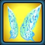 Blue Crystal Wings